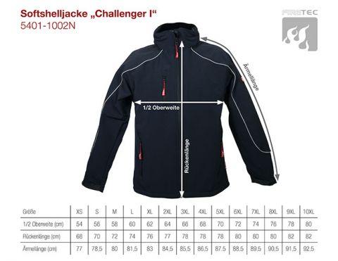 Softshelljacke Challenger I