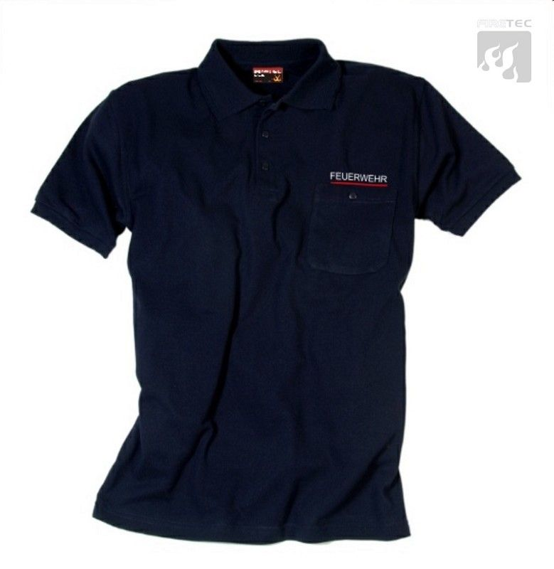 Polo-Shirt SAARLAND schwarzblau 1/2 Arm