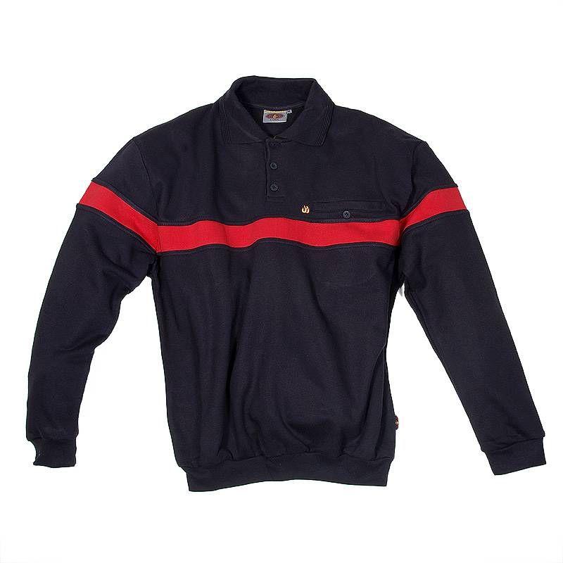 Polo Sweater Premium-Flame 1/1 Arm