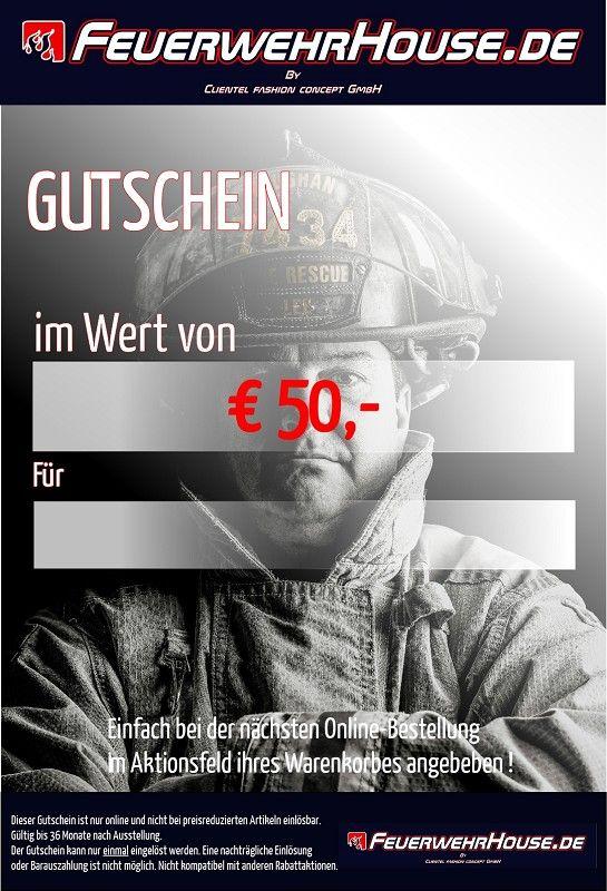 € 50,- Geschenk-Gutschein