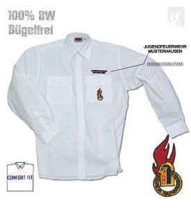 Premium-Diensthemd DJF Firechief 1/1 Arm