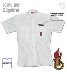 Premium-Diensthemd DJF Firechief, 1/2 Arm