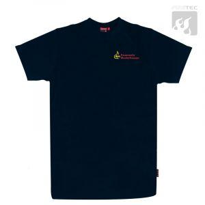 "T-Shirt ""BaWü"" 1/2 Arm m. Rundhals u. Stick ""Ortsname"""
