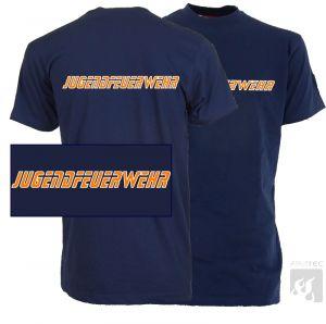 JFW Firetec T-Shirt mit Front- u. Rückendruck