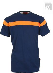 JFW Decor Firetec Basic Shirt orange/blau