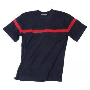 T-Shirt Premium-Flame mit Rundhals