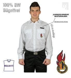 Diensthemd DJF extra langer 68er Arm