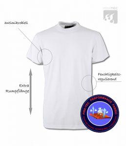 T-Shirt Fire-Tec 1/2 Arm, weiss