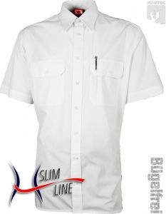 Diensthemd SLIM, Fb. Weiß, 1/2-Arm