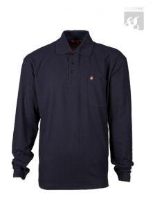 Polo-Shirt schwarzblau 1/1 Arm