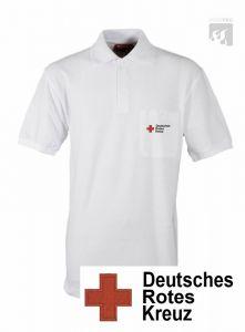 "DRK Polo-Shirt ""weiß"" 1/2 Arm"