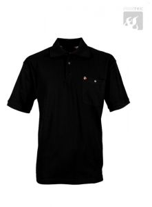 Polo-Shirt schwarz 1/2 Arm