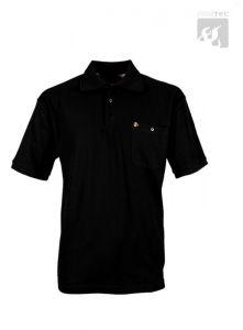 Polo-Shirt schwarz 1/2 Arm