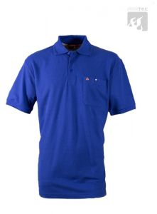 Polo-Shirt royal 1/2 Arm