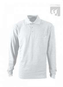 Polo-Shirt weiß 1/1 Arm