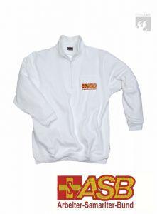 ASB Zippshirt mit Leistentasche