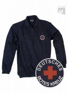 DRK Zippshirt mit Leistentasche