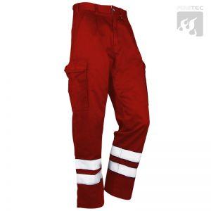 Rettungsdienst-Einsatzhose, rot