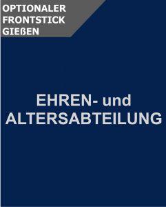 Optionale Schriftzugstickerei Ehrenabteilung