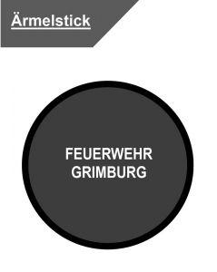 Ärmelstick FEUERWEHR GRIMBURG