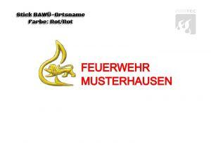 Signet Feuerwehr BAWÜ Ortsname