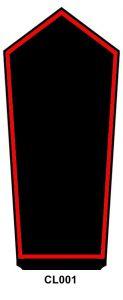 Schulterstück Anwärter Feuerwehrfrau/-mann