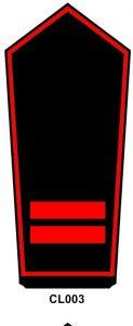 Schulterstück Oberfeuerwehrfrau/-mann