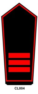 Schulterstück Hauptfeuerwehrfrau/-mann