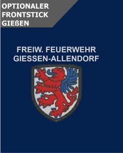 Optionale Wappenstickerei Giessen-Allendorf