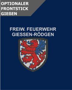 Optionale Wappenstickerei Giessen-Rödgen