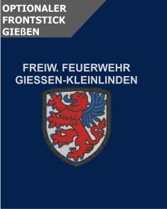 Optionale Wappenstickerei Giessen-Kleinlinden