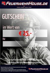 € 25,- Geschenk-Gutschein