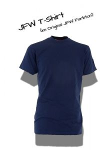 JFW Firetec Basic Shirt blau 1/2 Arm