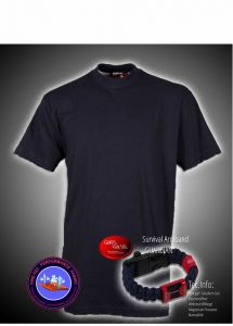 T-Shirt Fire-Tec 1/2 Arm plus Armband GUARDIAN