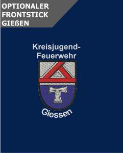 Optionale Wappenstickerei KjFw Giessen