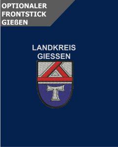 Optionale Wappenstickerei Landkreis Giessen