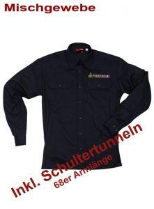 Diensthemd BaWÜ extra langer Arm, m. Stick Signet
