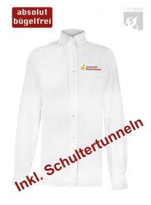 Damen-Bluse Baden-Württemberg 1/1 Arm m. Stick Ortsname