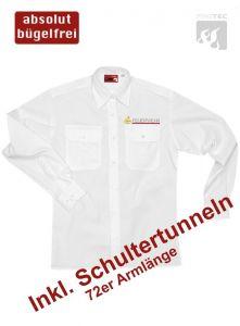 Diensthemd BaWü, 72er Armlänge m. Stick Signet