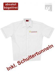 Diensthemd, 1/2 Arm Baden-Württemberg m. Stick Signet